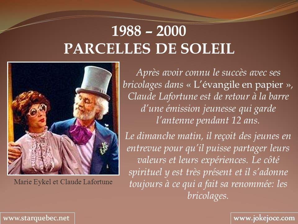 Marie Eykel et Claude Lafortune