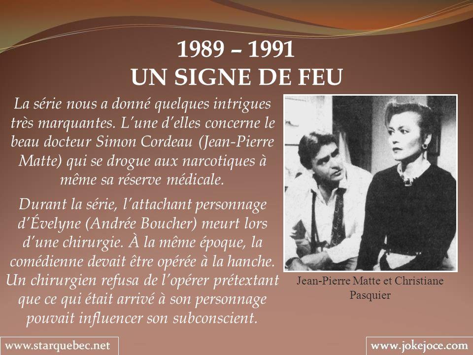 Jean-Pierre Matte et Christiane Pasquier