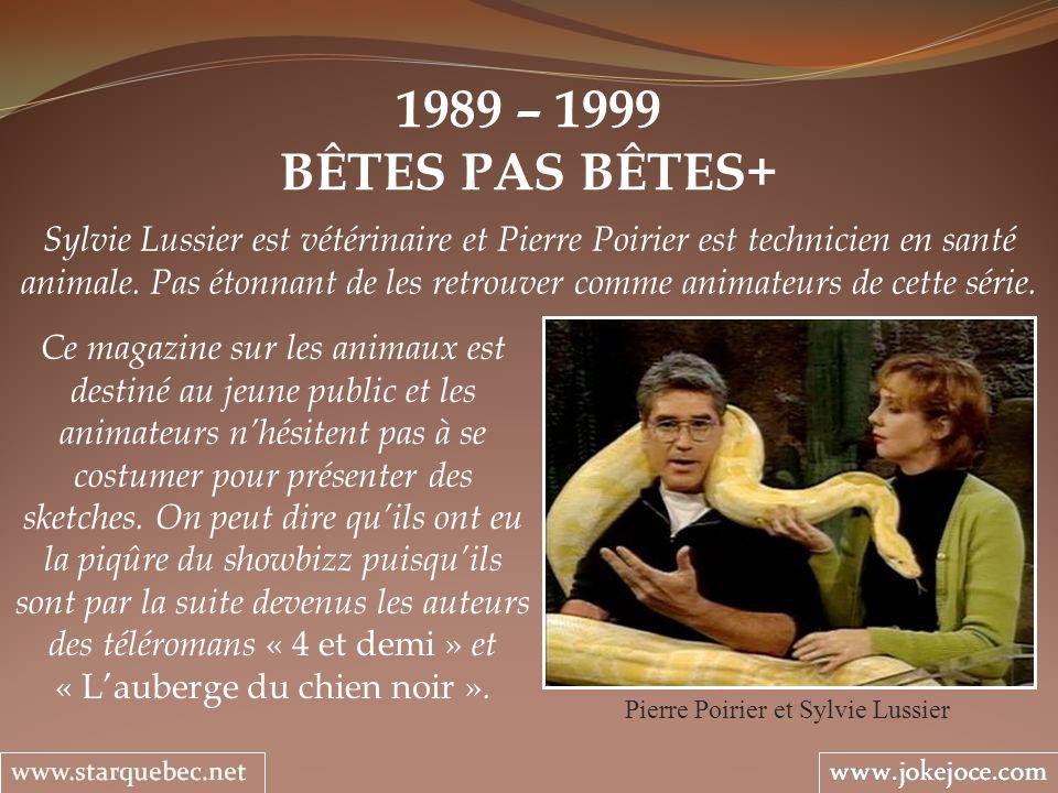 Pierre Poirier et Sylvie Lussier