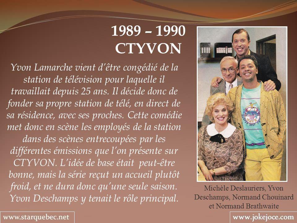 1989 – 1990 CTYVON.