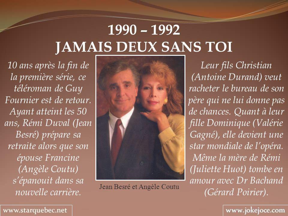 Jean Besré et Angèle Coutu
