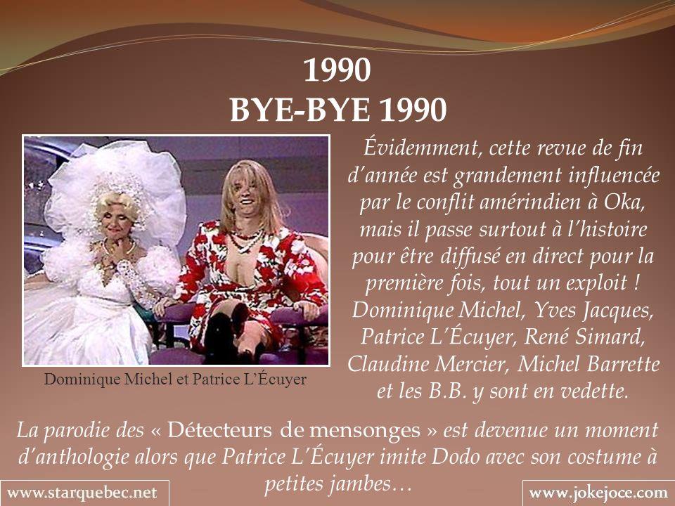 Dominique Michel et Patrice L'Écuyer