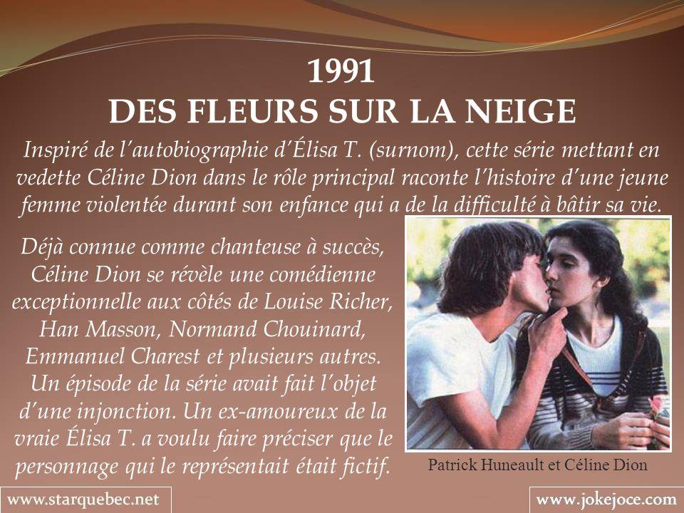 Patrick Huneault et Céline Dion