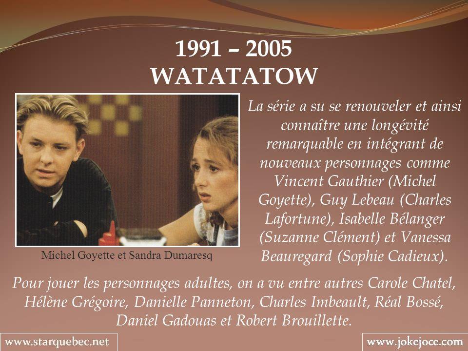Michel Goyette et Sandra Dumaresq