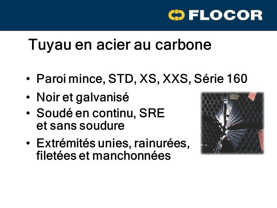 Tuyau en acier au carbone