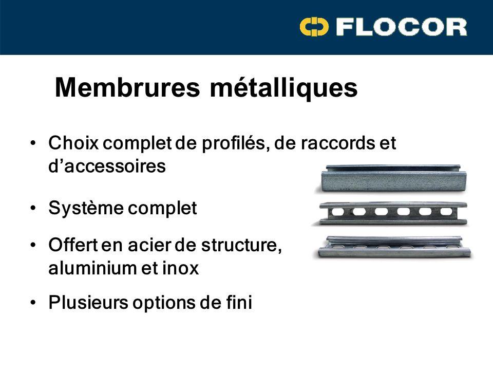 Membrures métalliques