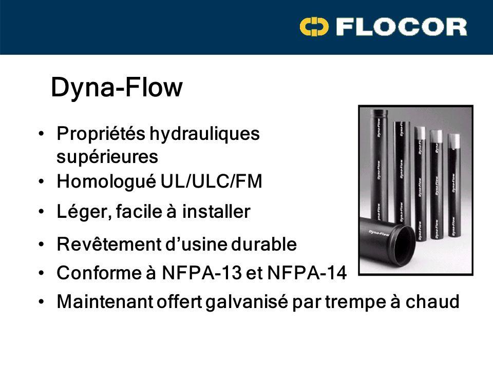 Dyna-Flow Propriétés hydrauliques supérieures Homologué UL/ULC/FM
