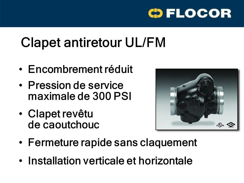 Clapet antiretour UL/FM