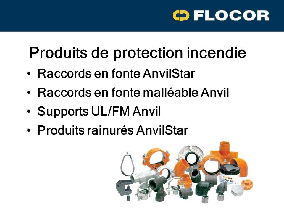 Produits de protection incendie