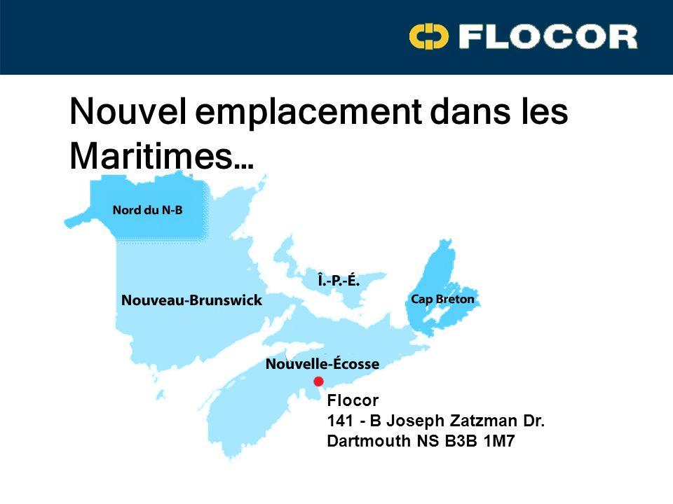 Nouvel emplacement dans les Maritimes…