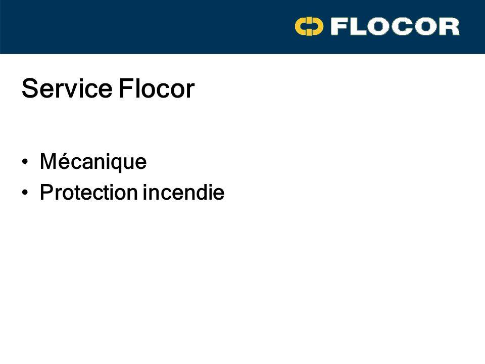 Service Flocor Mécanique Protection incendie