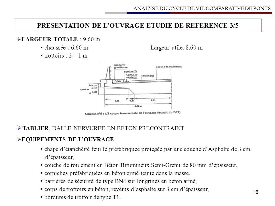 PRESENTATION DE L'OUVRAGE ETUDIE DE REFERENCE 3/5