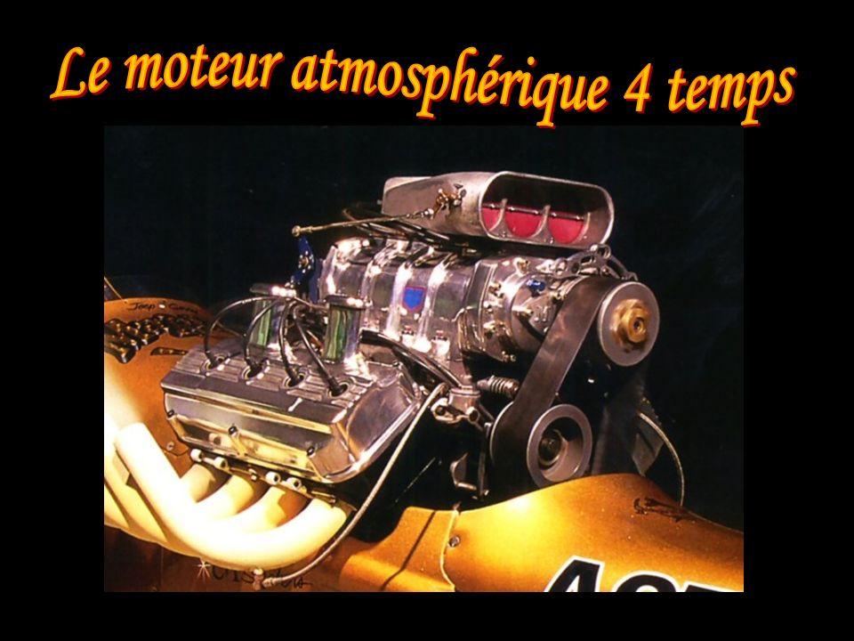 Le moteur atmosphérique 4 temps