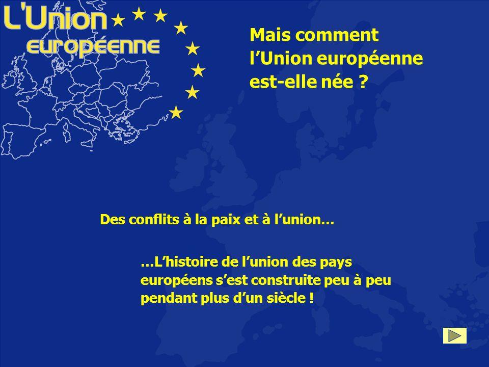 l'Union européenne est-elle née