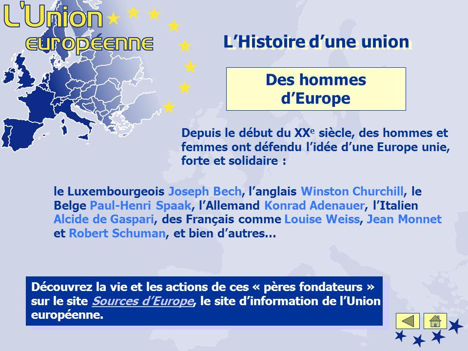L'Histoire d'une union