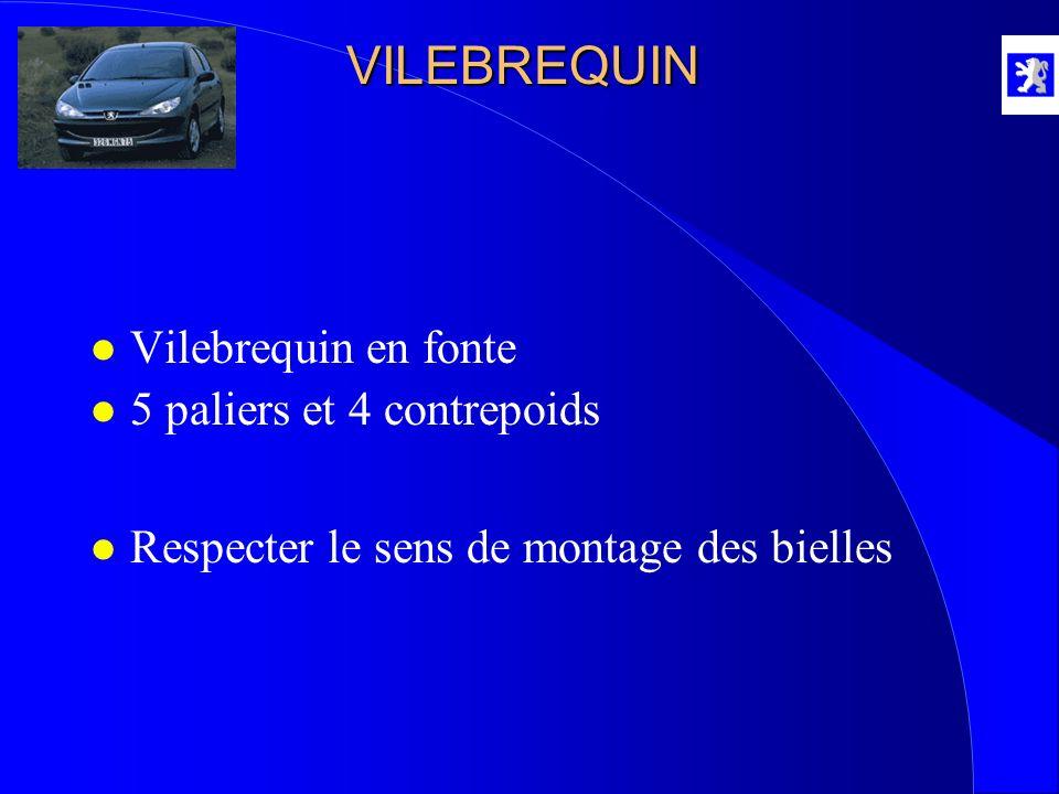 VILEBREQUIN Vilebrequin en fonte 5 paliers et 4 contrepoids