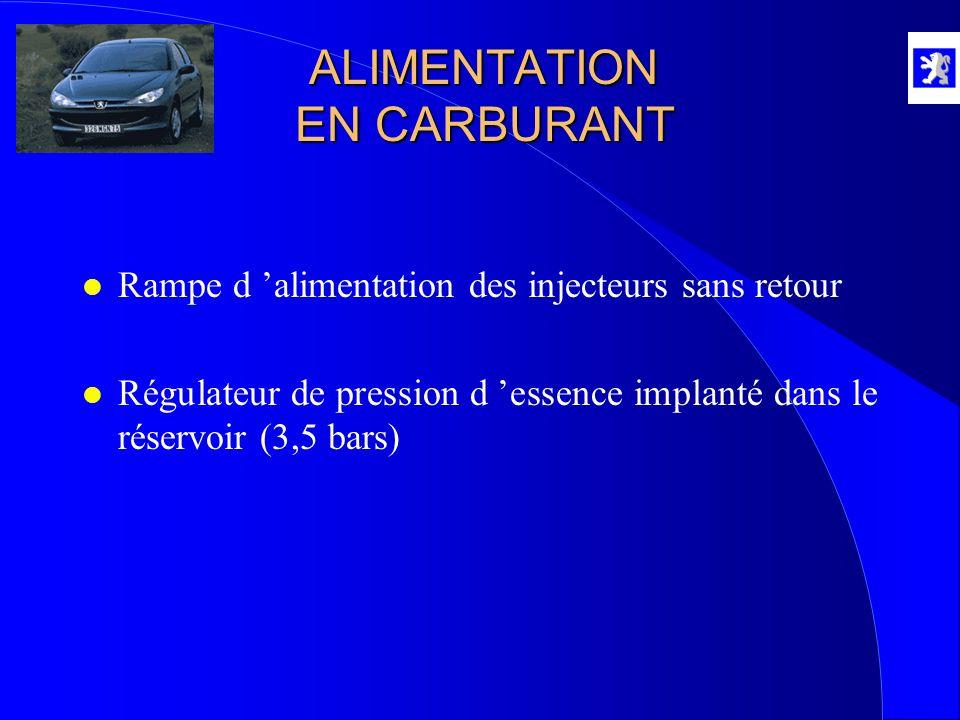 ALIMENTATION EN CARBURANT