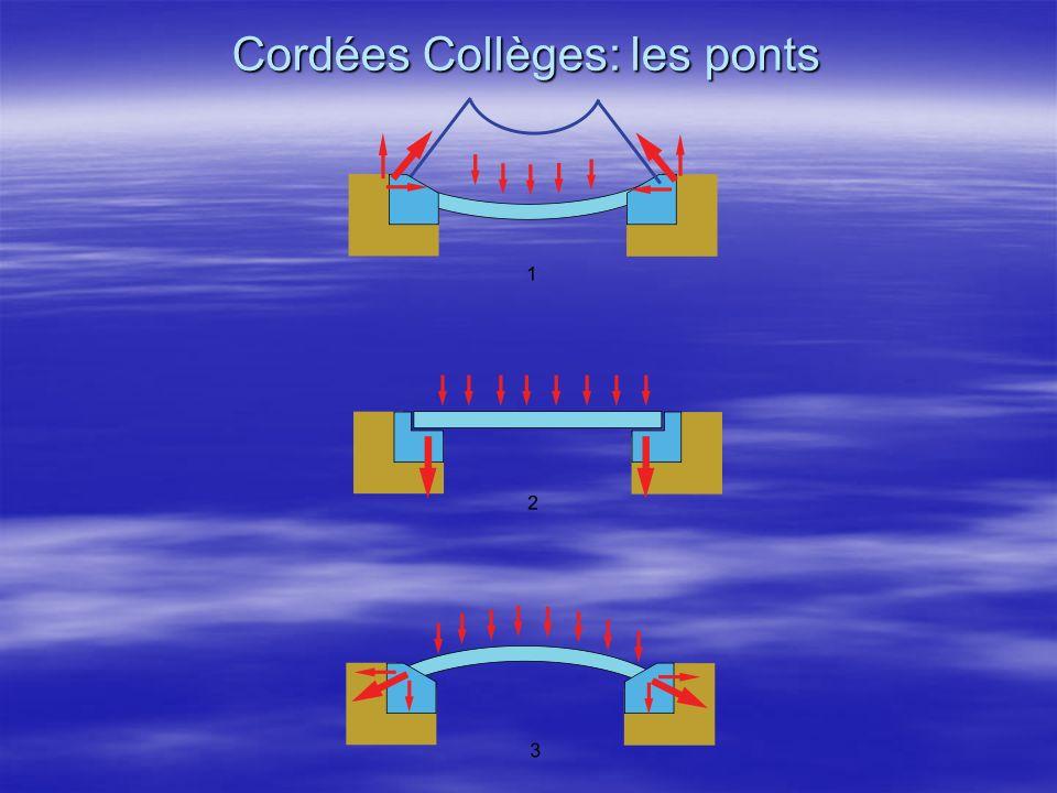 Cordées Collèges: les ponts