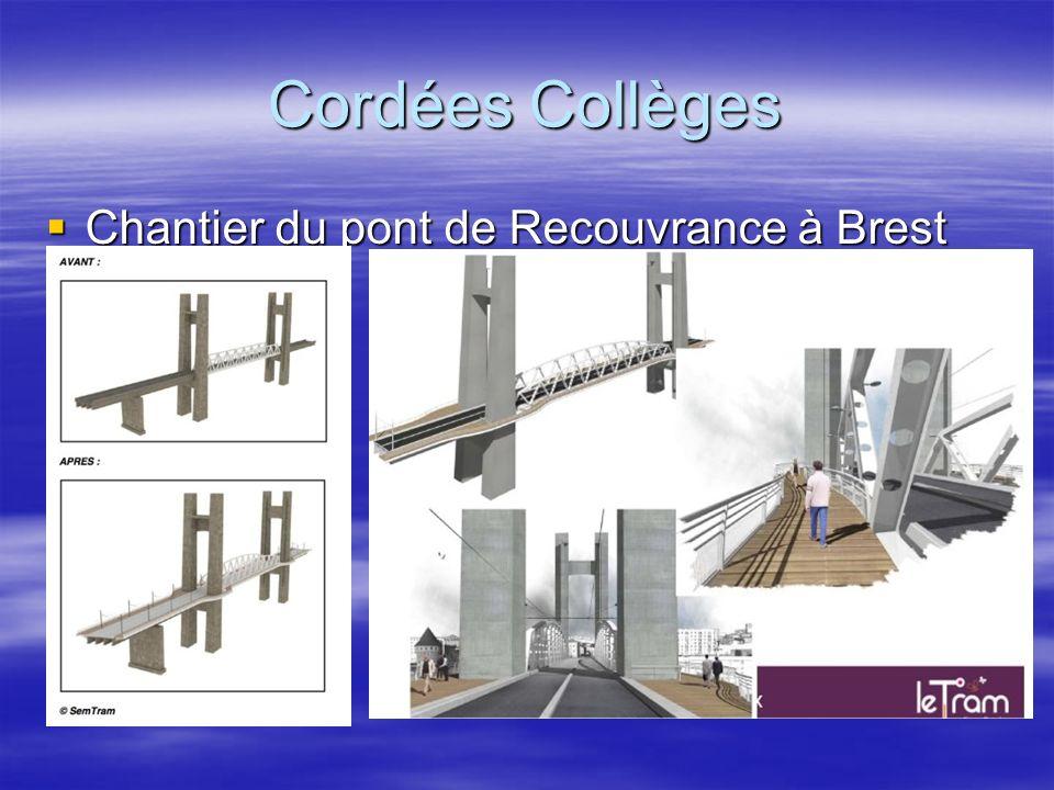 Cordées Collèges Chantier du pont de Recouvrance à Brest