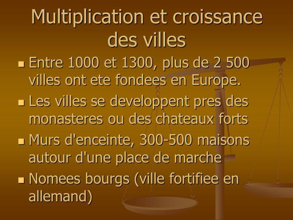 Multiplication et croissance des villes