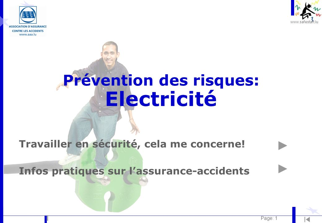 Prévention des risques: Electricité