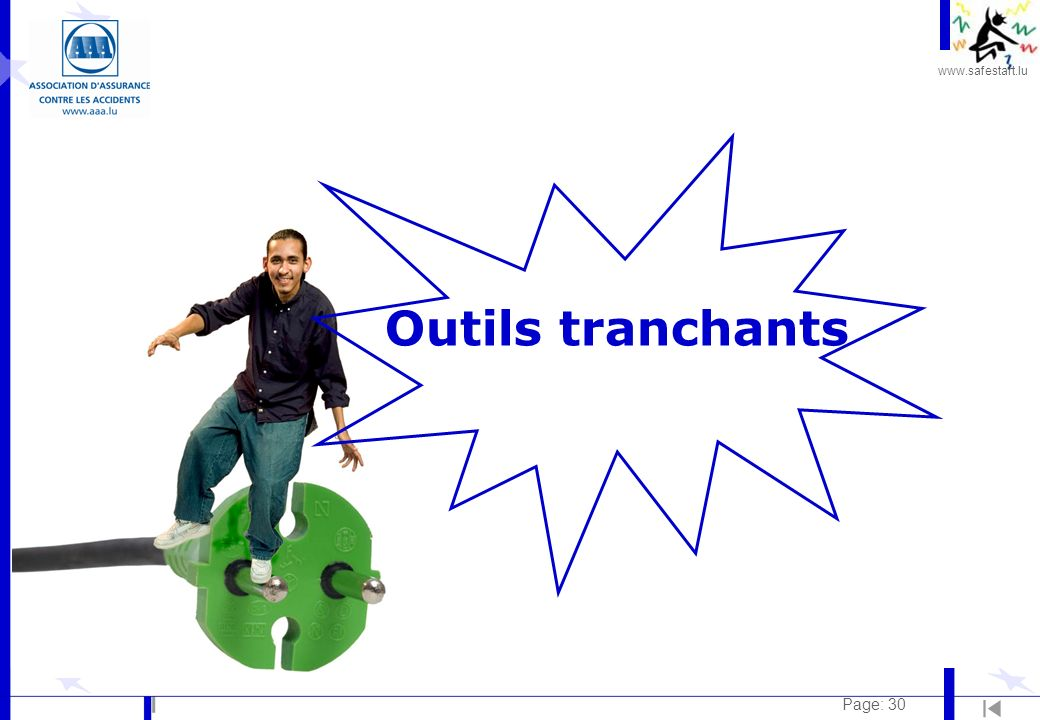Outils tranchants Page: 30