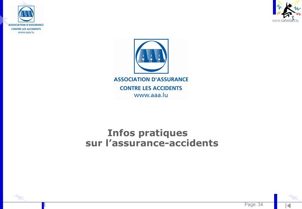 Infos pratiques sur l'assurance-accidents