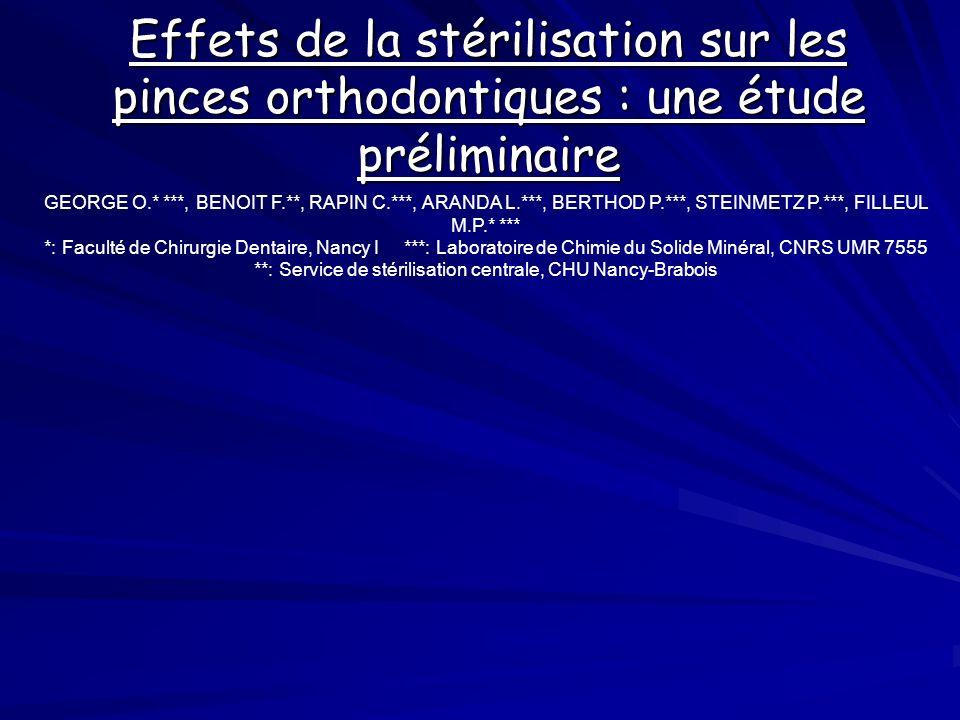 **: Service de stérilisation centrale, CHU Nancy-Brabois