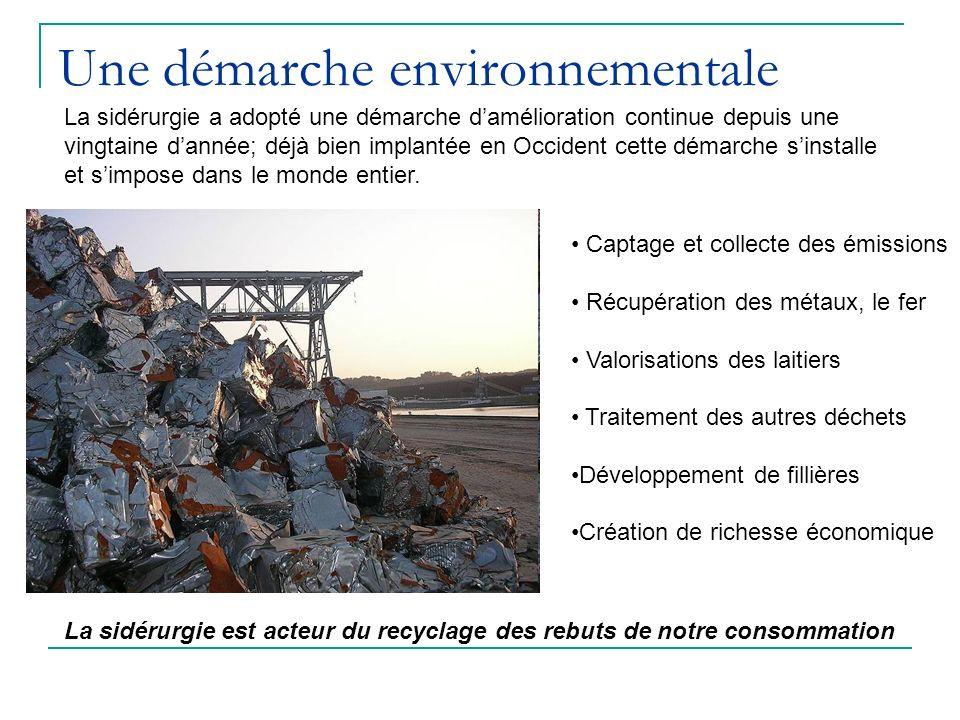 Une démarche environnementale