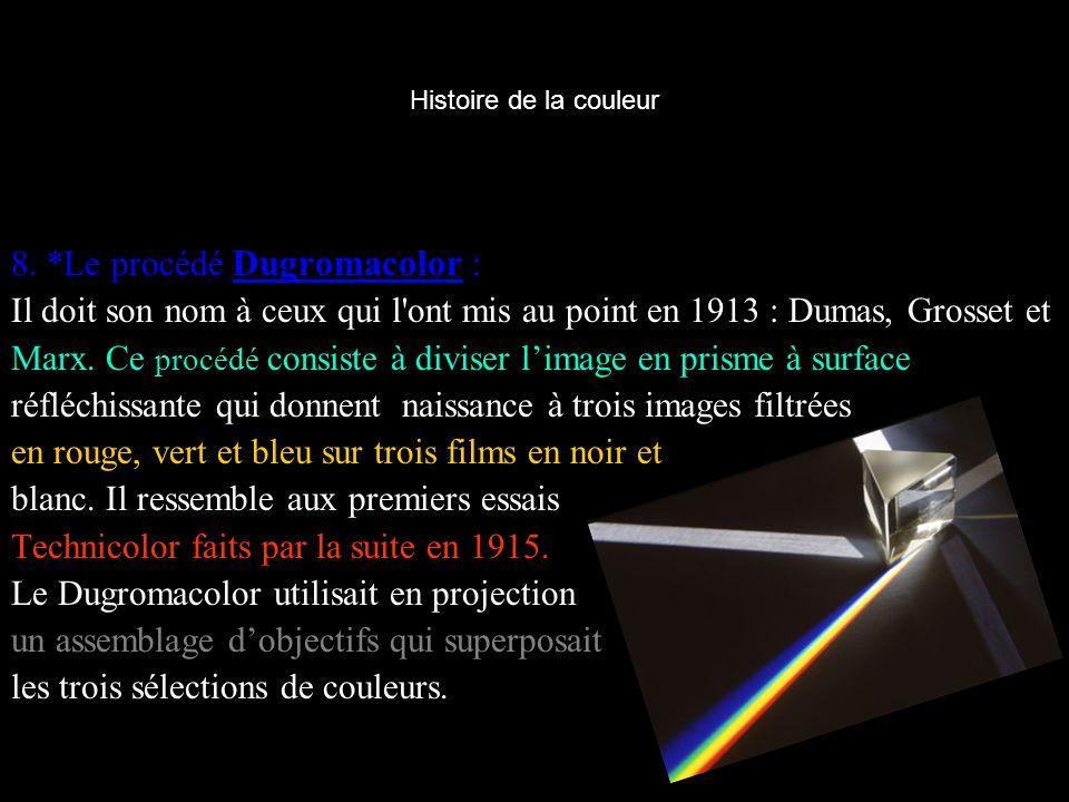8. *Le procédé Dugromacolor :