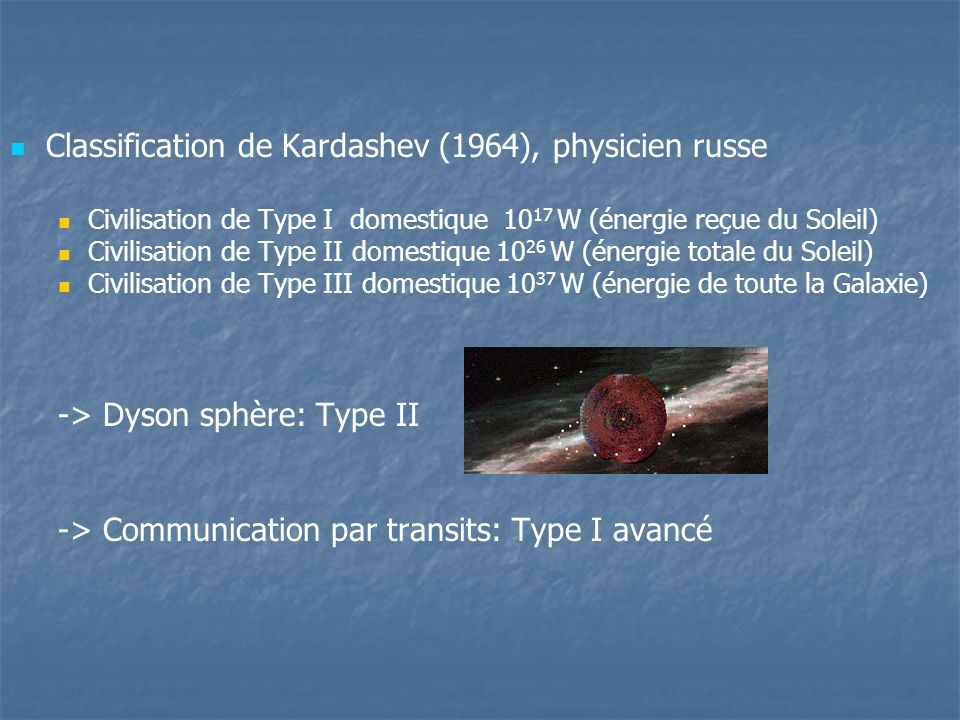 Classification de Kardashev (1964), physicien russe