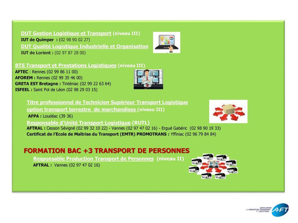 formations transport et logistique