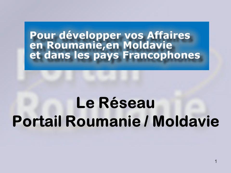 Le Réseau Portail Roumanie / Moldavie