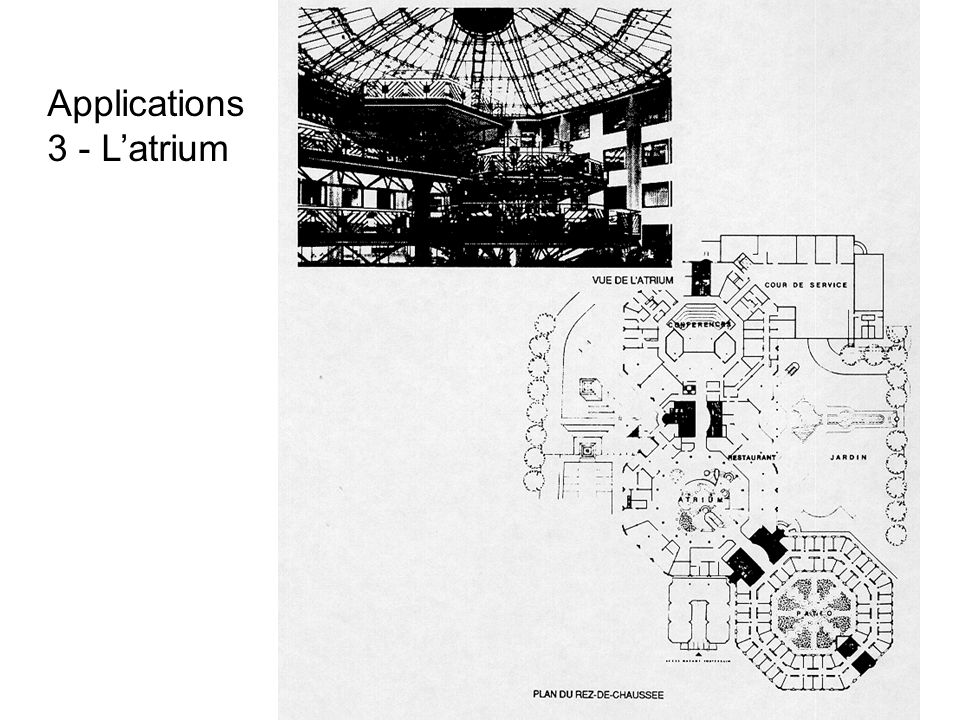 Applications 3 - L'atrium