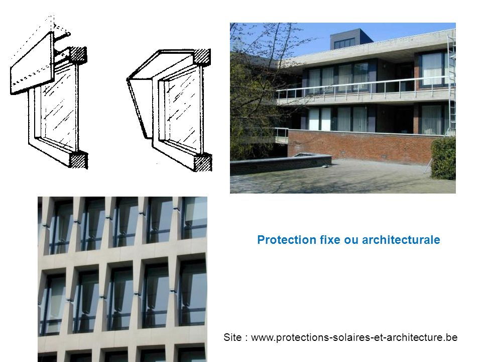 Protection fixe ou architecturale