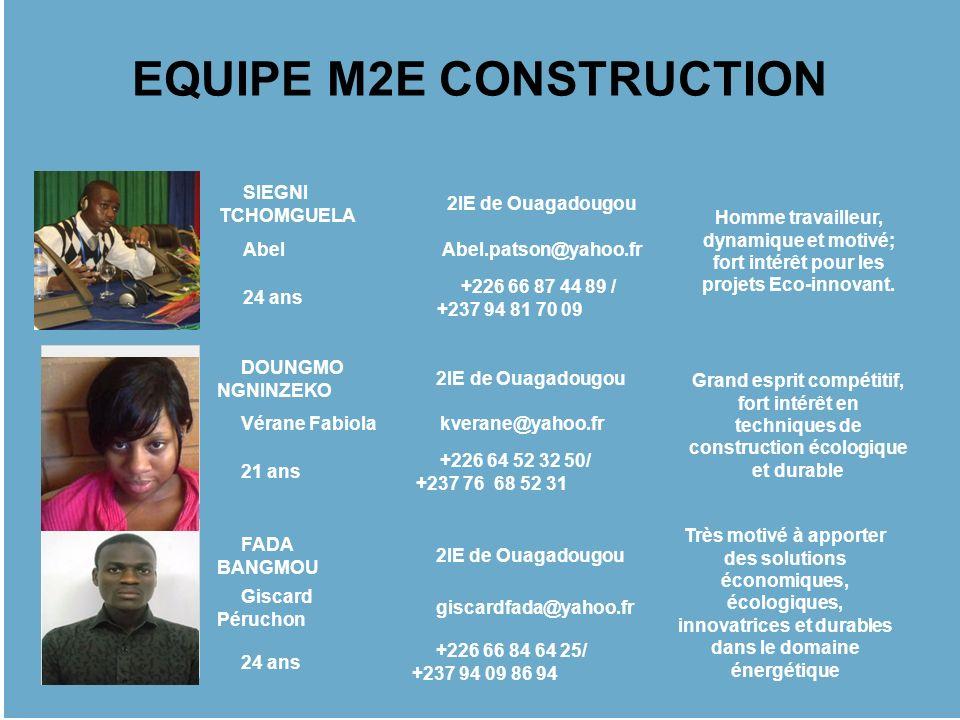 EQUIPE M2E CONSTRUCTION