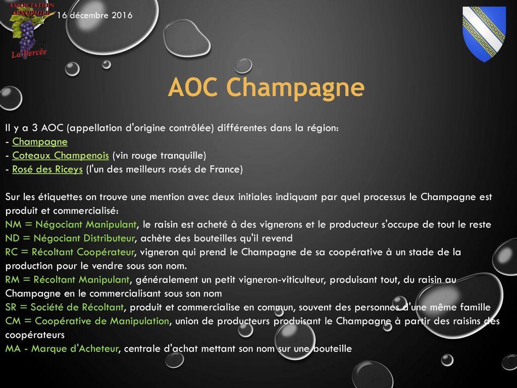 Champagne sommaire l entreprise champagne aoc types de champagne ppt t l charger - Une bouteille de champagne pour combien de personnes ...