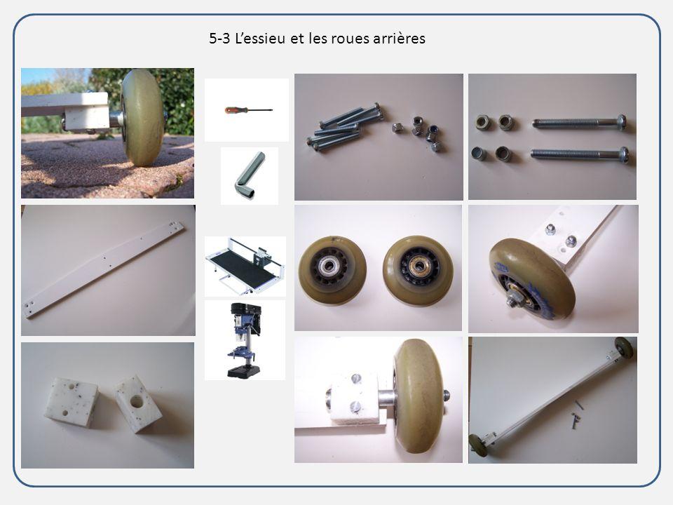 5-3 L'essieu et les roues arrières