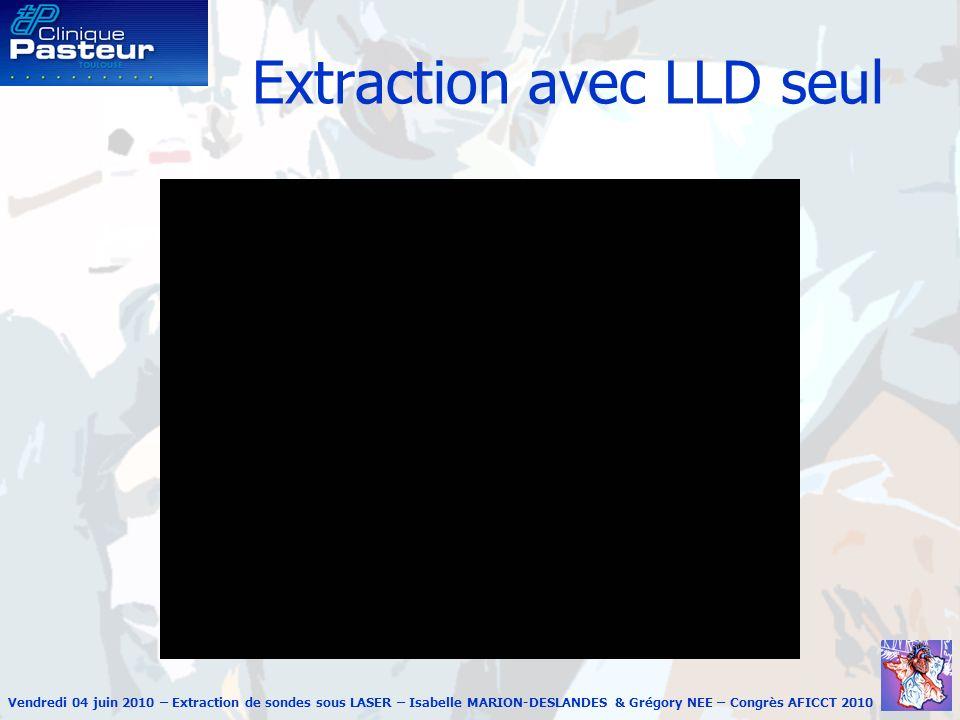 Extraction avec LLD seul