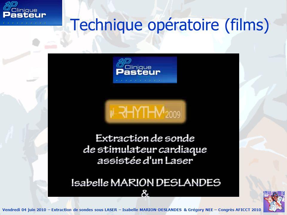 Technique opératoire (films)