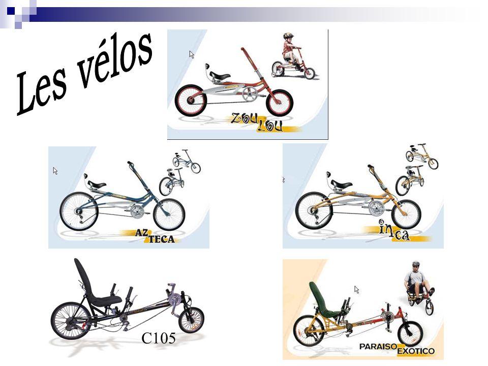 Les vélos C105
