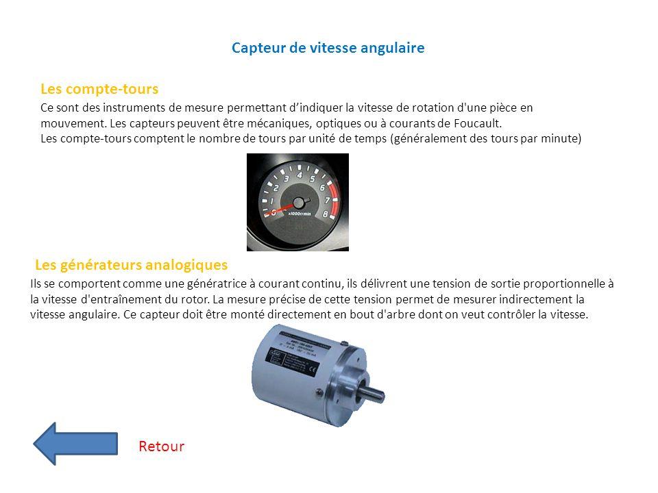 Capteur de vitesse angulaire