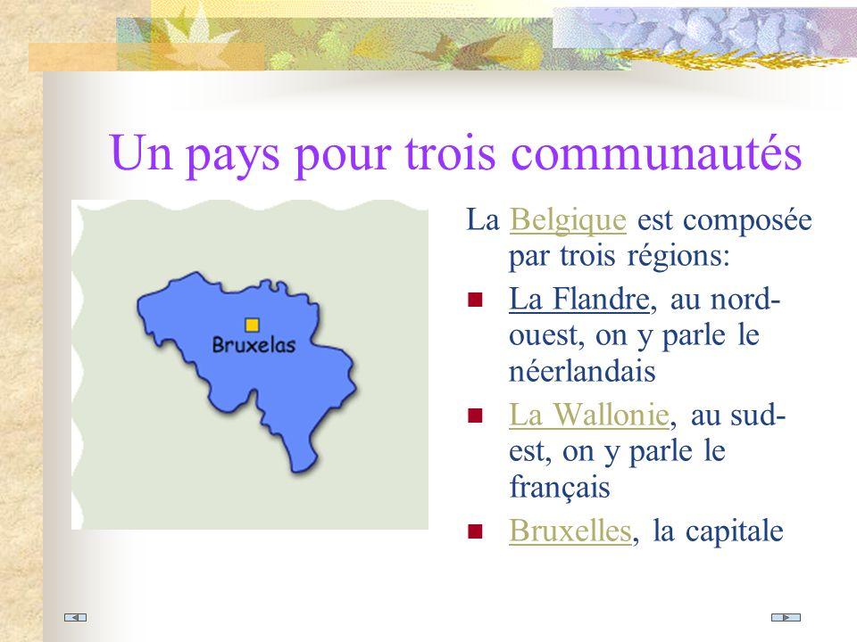Un pays pour trois communautés