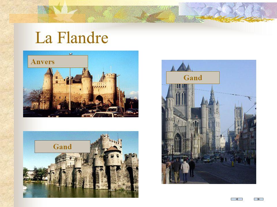 La Flandre Anvers Gand Gand