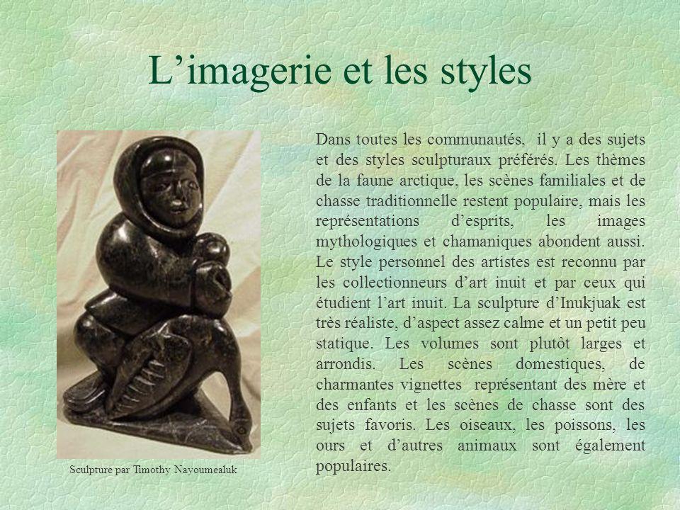 L'imagerie et les styles