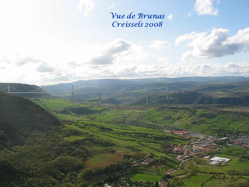 Vue de Brunas Creissels 2008