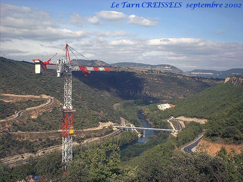 Le Tarn CREISSELS septembre 2002
