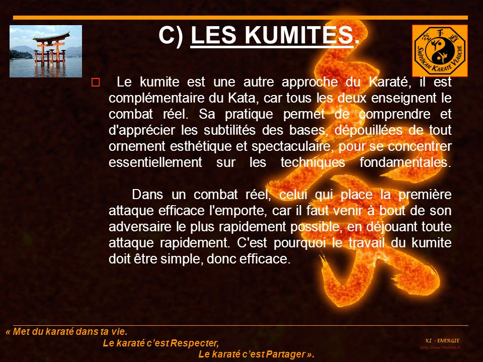 C) LES KUMITES.