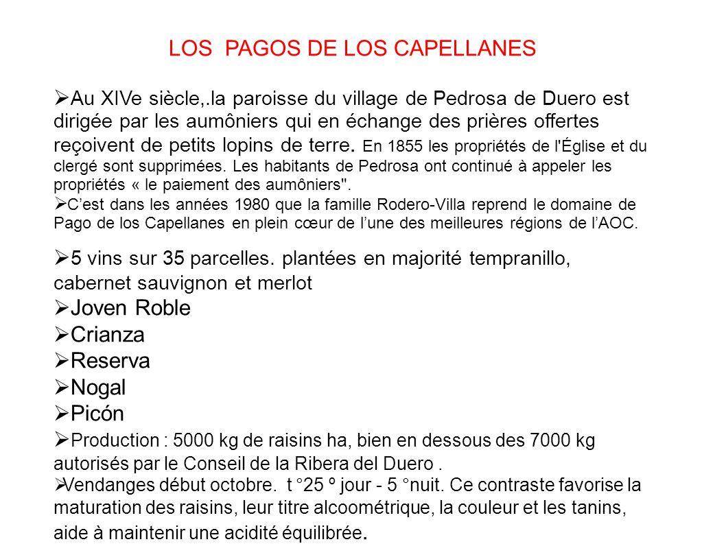 LOS PAGOS DE LOS CAPELLANES