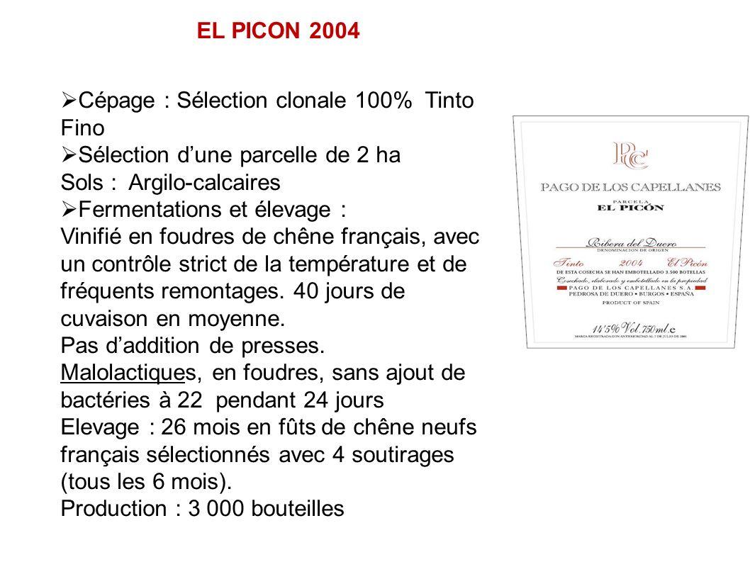 Cépage : Sélection clonale 100% Tinto Fino